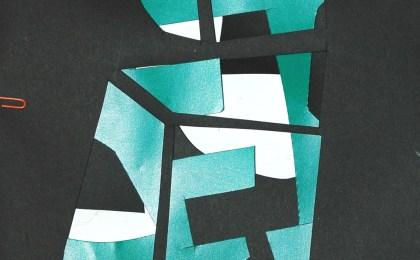 Freddie Freeloader 4/   Papel recortado/    33×25 cm/    2005