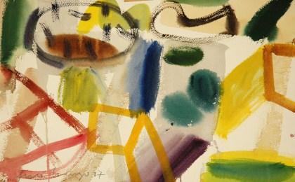 Paisaxe /  Acuarela sobre papel /  33×51 cm /  2007