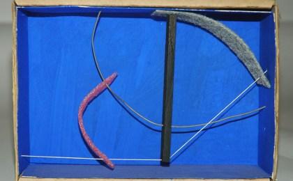 Sen título/    Ensamblaxe en caixa de cartón/    14x20x7 cm/    2005