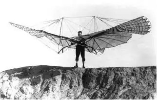 Lillienthal 1894 bird glider