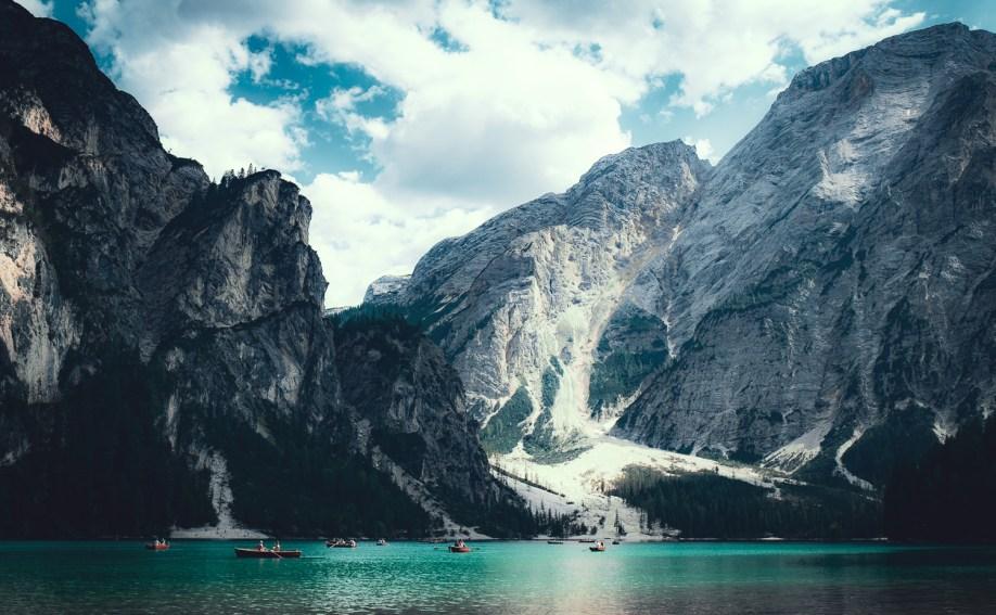 Jeziora wDolomitach - Lago di Braies