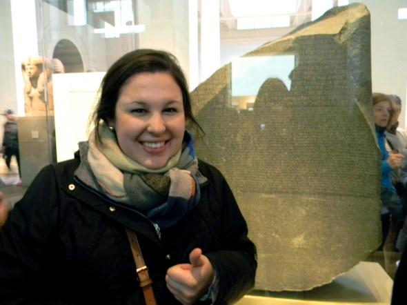 Just translating the Rosetta stone.