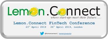 Fintech Events Conferences London 2019 - Lemon.Connect Fintech Conference