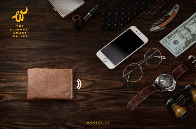The Woolet Is A Wallet That Yells At You When You Leave It Behind