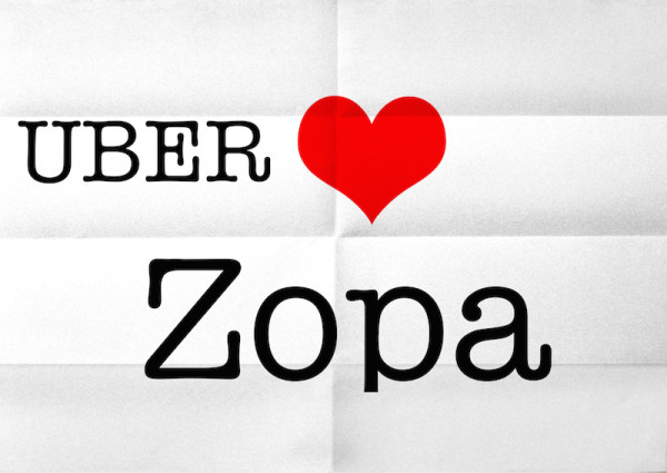 UBER & Zopa Hook Up to Help Drivers Purchase Cars