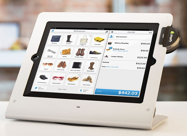 Shopify's iPad POS System Gets Its Own Apps