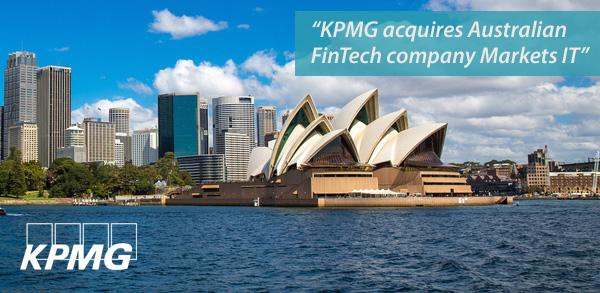 Deals: KPMG acquires Australian FinTech company Markets IT