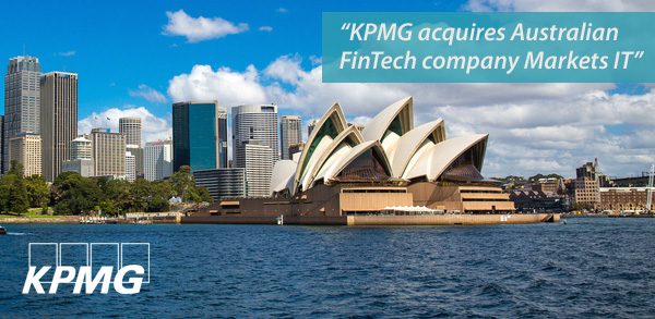 Deals: KPMG acquires Australian FinTech company Markets IT