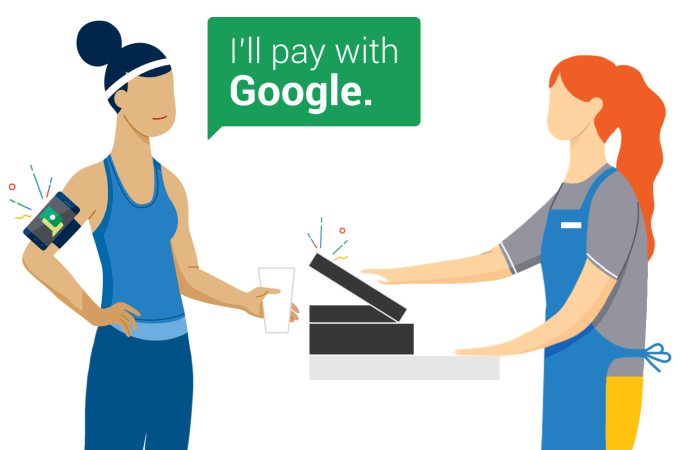 Google pilots hands free payments app