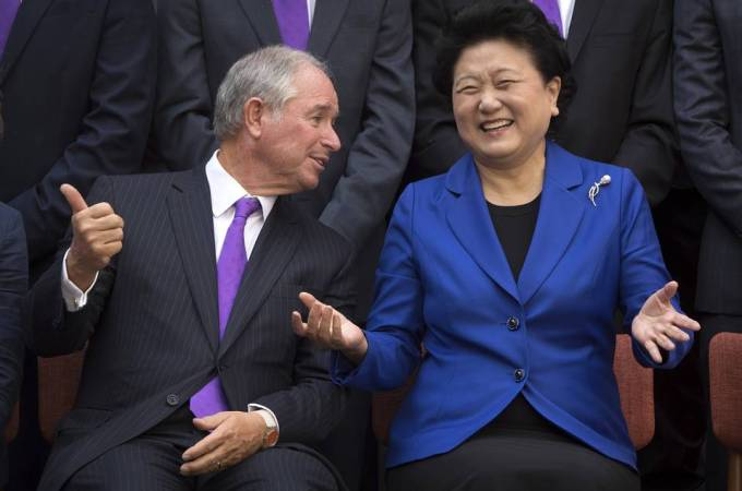 Blackstone's Schwarzman Invests in Elite Education in China