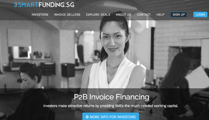 SmartFunding raises US$490K to help SMEs sell their invoices to investors