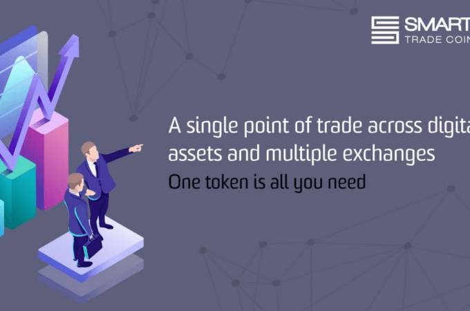 A single point of trade across digital assets and multiple exchanges – One token is all you need