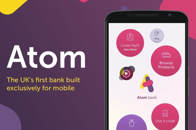 UK challenger bank Atom raises another £50M from BBVA and more at £530M valuation