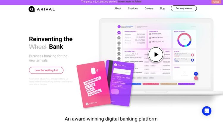 Arival Bank Nets $2.3 Million in Equity Crowdfunding Campaign