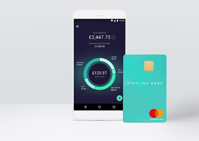 Starling Bank follows rival Monzo in raising overdraft charges for those with bad credit scores – but capped at a lower 35%