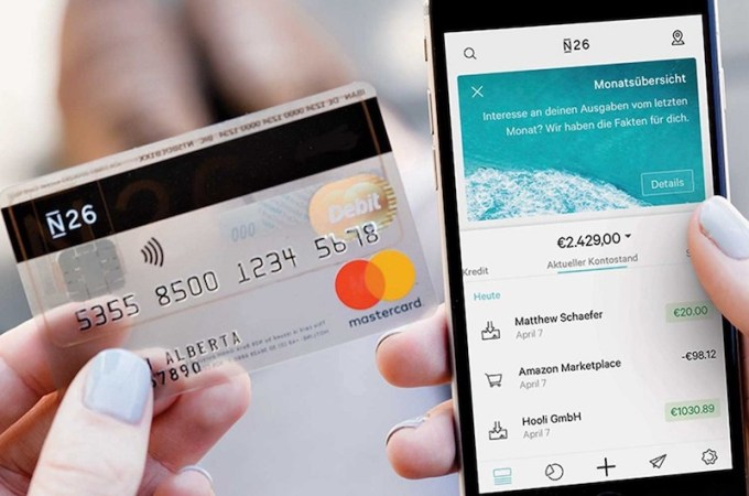 Germany based Digital Bank N26 Publishes Survey Results Including US and European Markets