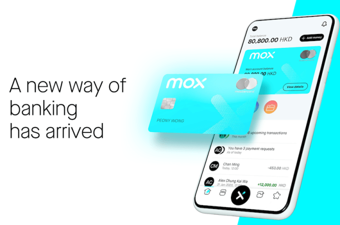 Hong Kong's Mox Bank Soft Launches for Digital Trial