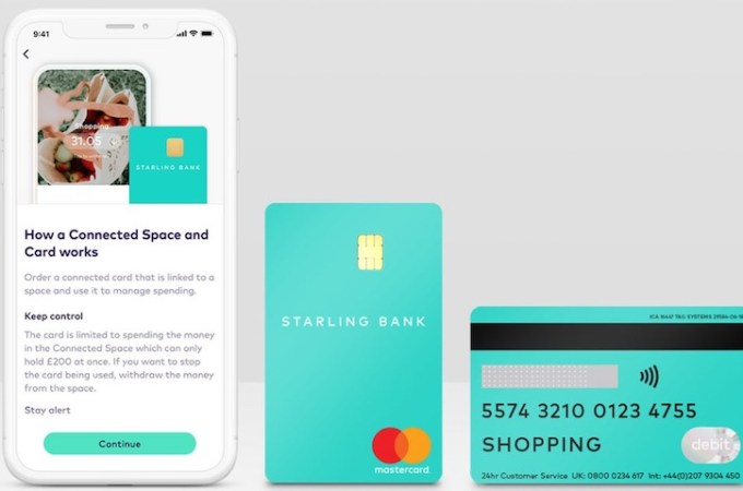 Starling Bank releases new spare debit card option to help those self-isolating