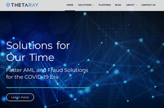 ThetaRay Provides Banco Santander with an Anti-Money Laundering (AML) Solution for Correspondent Banking