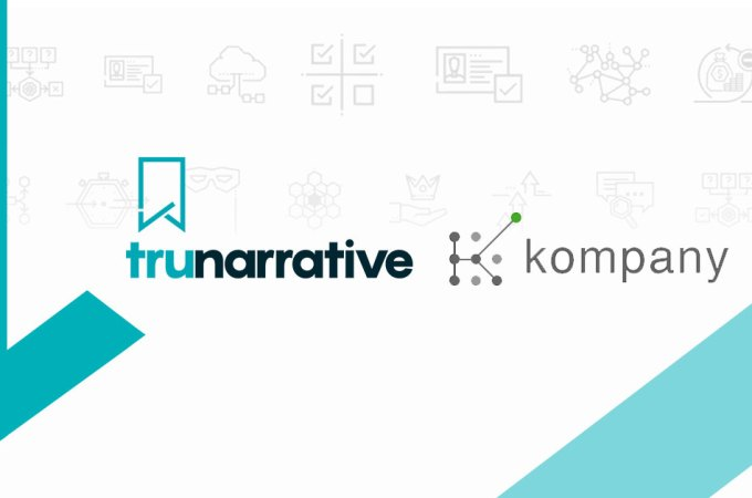 RegTech platforms TruNarrative and kompany join forces to enable swifter AML compliance