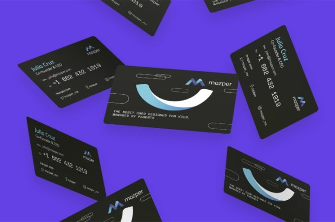 Mozper Raises $3.55M To Develop Debit Card For Kids