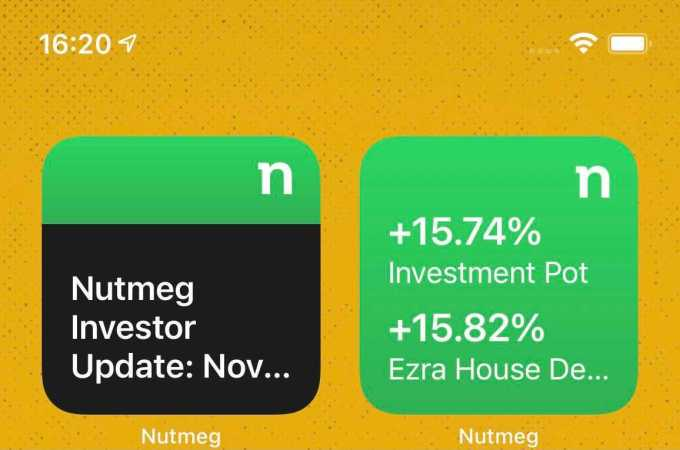 Nutmeg to launch iOS Widgets for investment performance