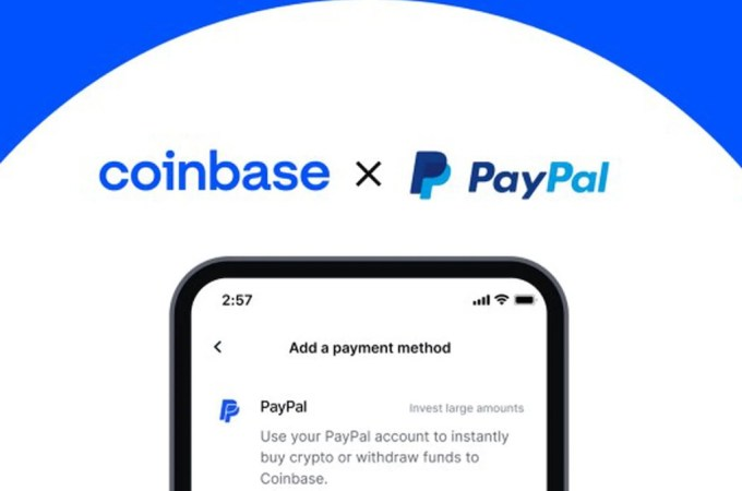 "Coinbase Adds ""But With PayPal"""