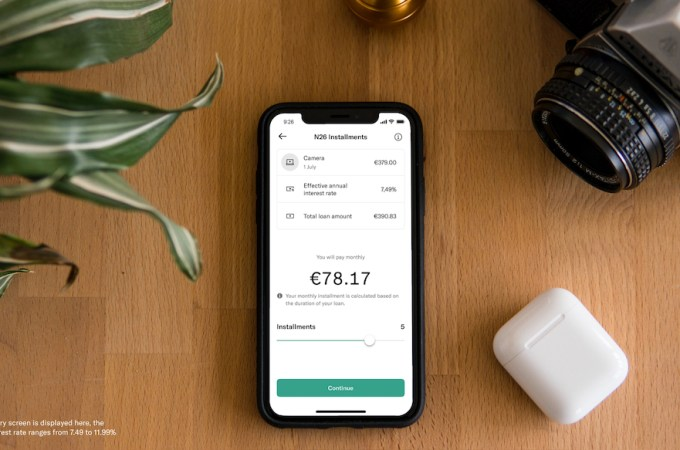 N26 launches N26 Installments, to settle past payments in installments
