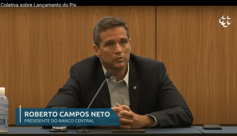Campos Neto é nomeado presidente do BC em mandato fixo até 2024