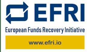 EFRI funds recovery logo