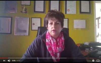 Elsa Voster Onderhou Fintip in Bloemfontein