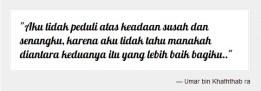Quote Khalifah Umar