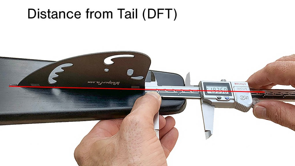 Measuring Fin Distance From Tail DFT