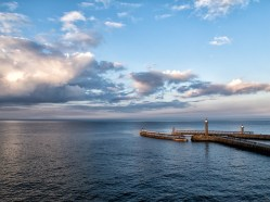 Whitby late light