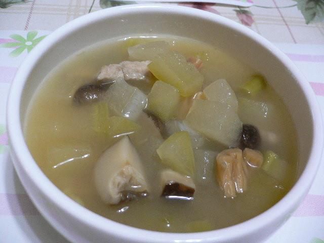 中華スープレシピ 錦繍冬瓜粒湯