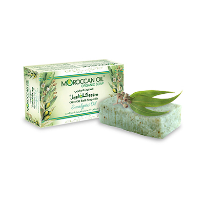 Olive Oil Bath soap with eucalyptus by. Moroccan Oil
