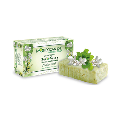 Olive Oil Bath soap with Melissa Herbs by Moroccan Oil