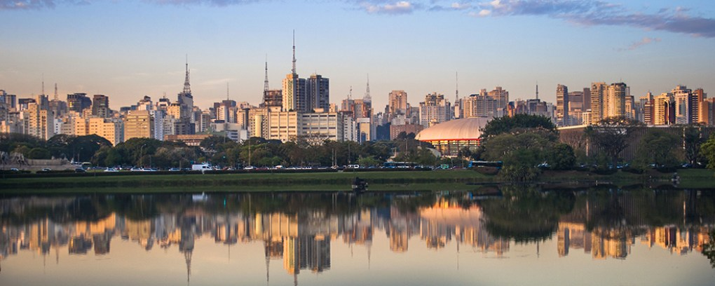 Skyline of Sao Paulo, Brazil - Origin of Fio de Ouro