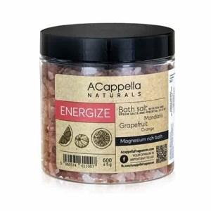 Acappella Natural Energize Premium Bath Salts