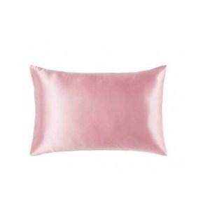 Lecler pink silk pillow case