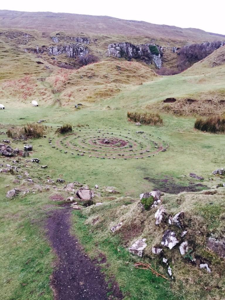 Fairy Glen stone circle, Isle of Skye
