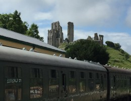 Corfe Castle, Swanage Railway