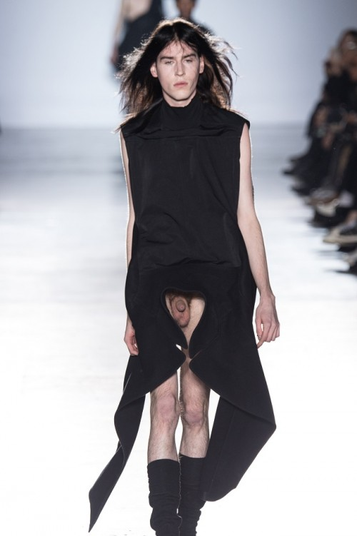 Pixelformula  Menswear Winter 2015 - 2016 Ready To Wear Paris Rick Owens