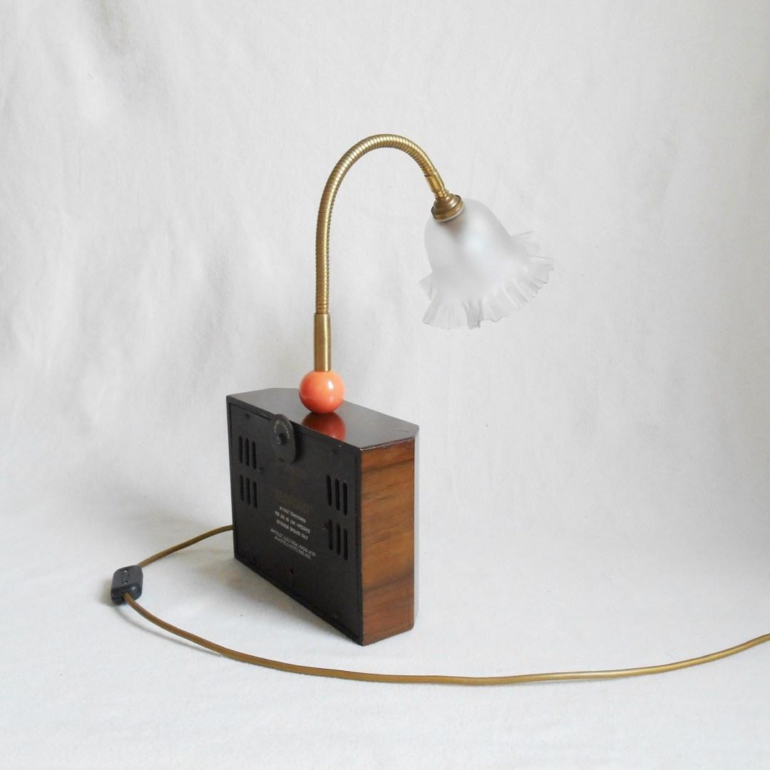Mini speaker lamp by Fiona Bradshaw Designs