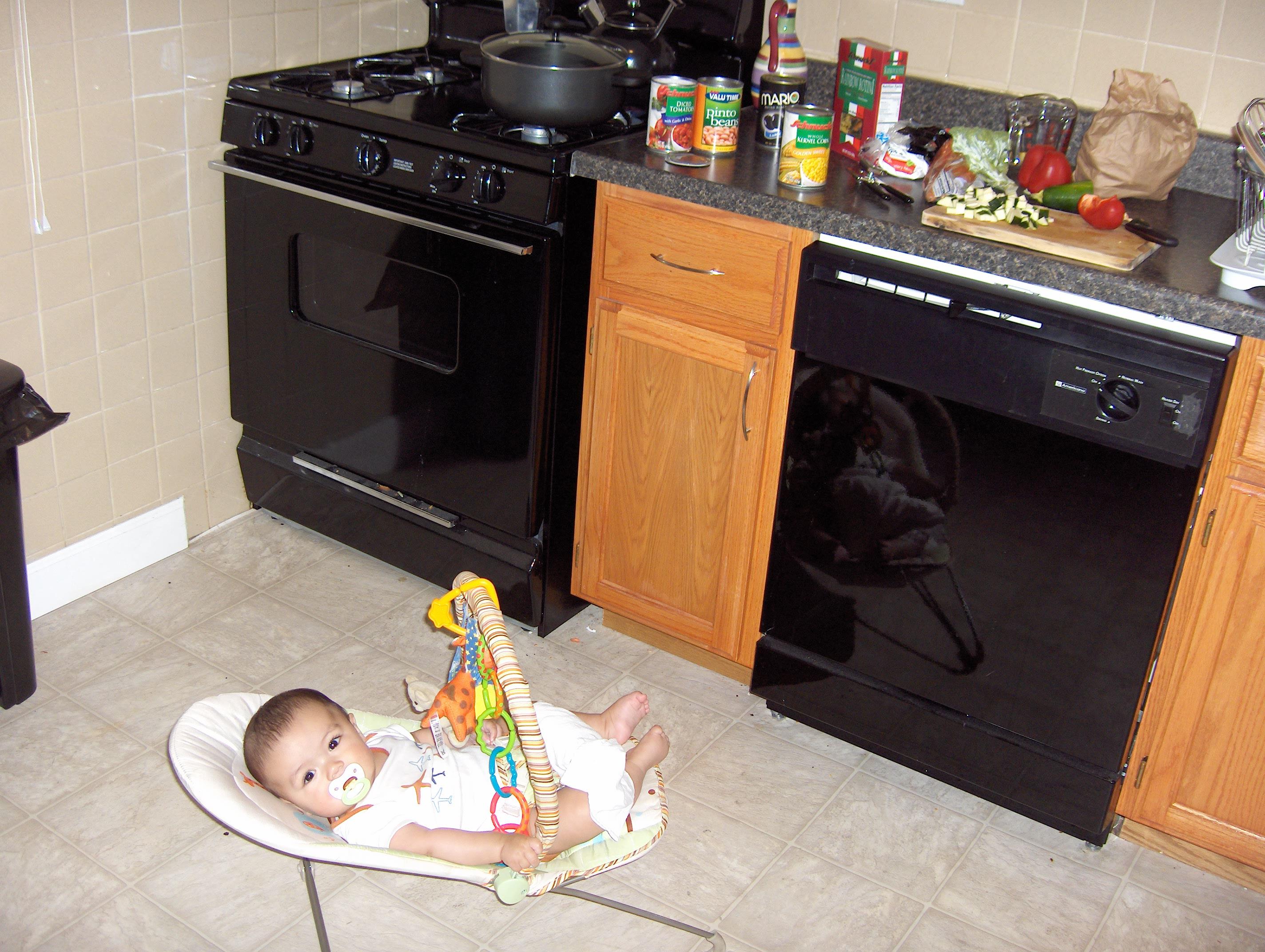 Kaz in The Kitchen