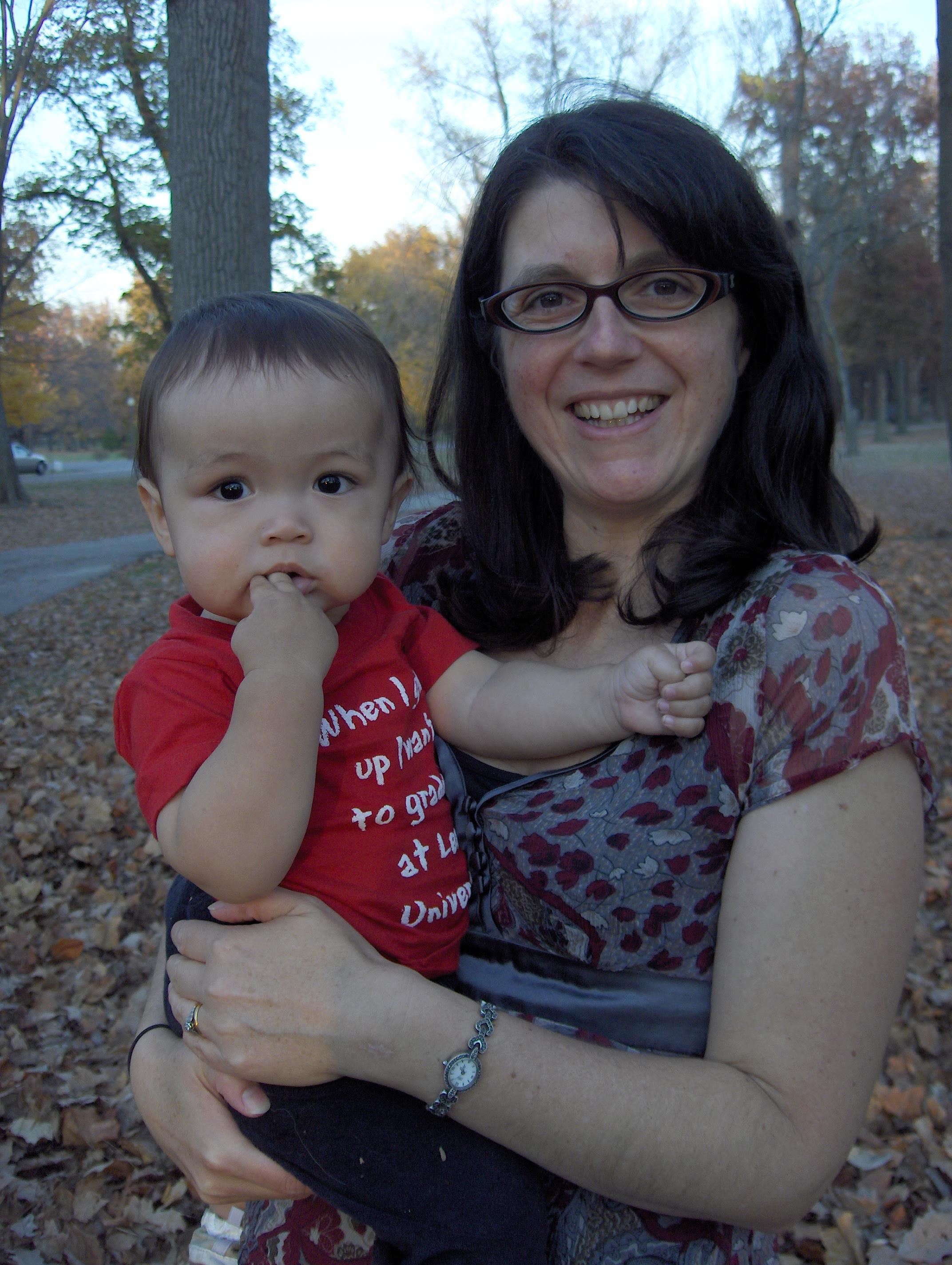 Kaz and Mama