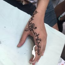 Henna body art by Fiona