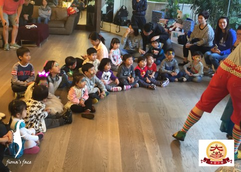 Wow~ Happy Big Birthday Party!!! And all enjoyed the performance & magic show very much by fiona's partner Big Clown!