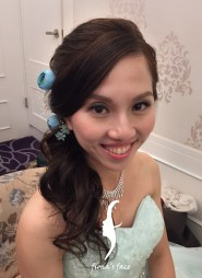 4th style in Tiffany Blue for Reception