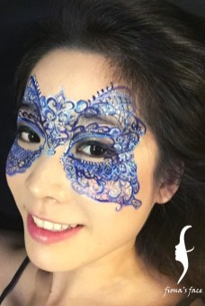 Original design by HK face painting artist fiona